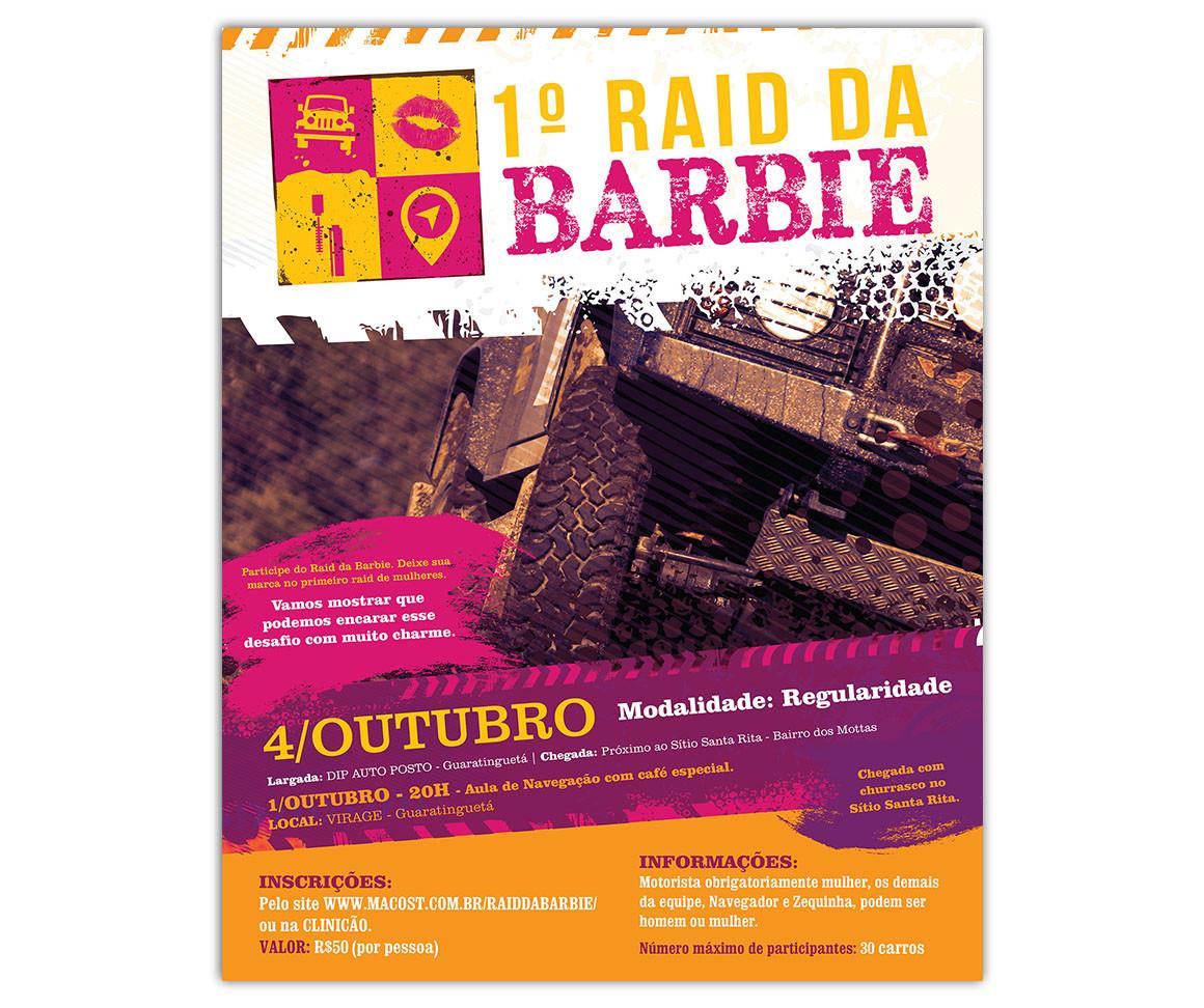 1º Raid da Barbie